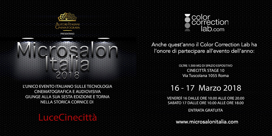 Color Correction Lab al MicroSalon Italia 2018
