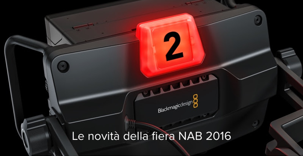 Novità Blackmagic Design al NAB 2016