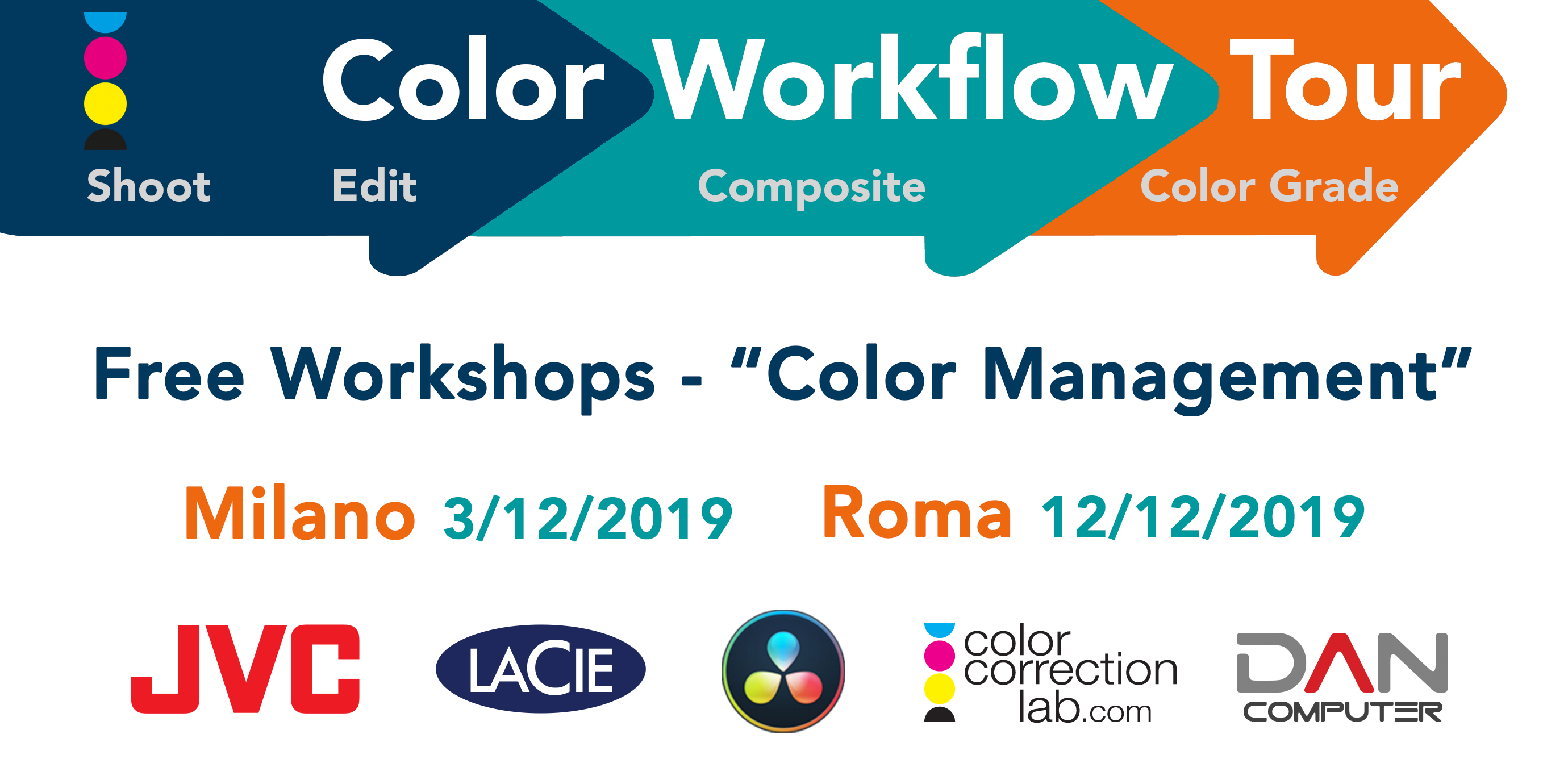 Color Workflow Tour 2019